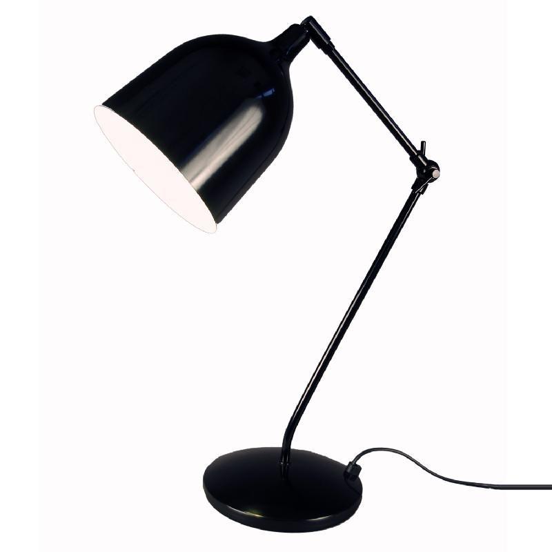 Mekano lampe de bureau architecte noir h79cm lampe poser aluminor desig - Lampe bureau architecte ...