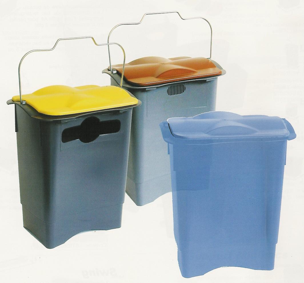 Sur bac de pré-collecte 35 litres