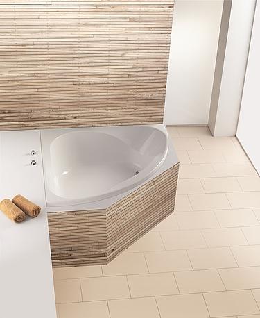 Hoesch design gmbh produits baignoires d 39 angle - Comment fixer un pare baignoire ...