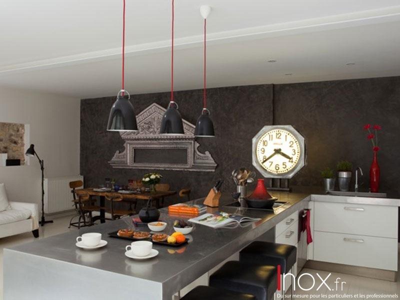 Plans de travail de cuisine tous les fournisseurs for Plan de travail en inox