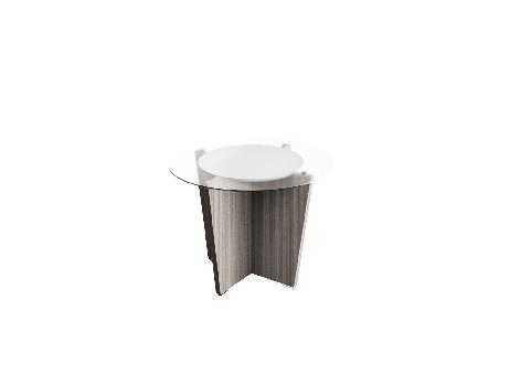 Table ronde manutan collectivit s achat vente de table for Plateau table ronde 110 cm
