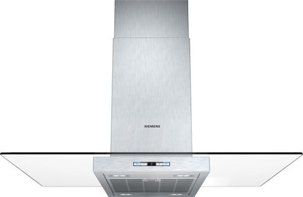 Siemens  Hotte Decorative Ilot Cm LfGa Lf  Ga  VerreInox