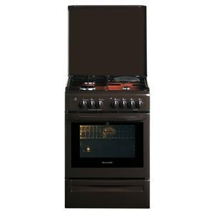 brandt cuisiniere mixte gaz electrique four pyrolyse kmp1015t kmp 1015 t cafe. Black Bedroom Furniture Sets. Home Design Ideas
