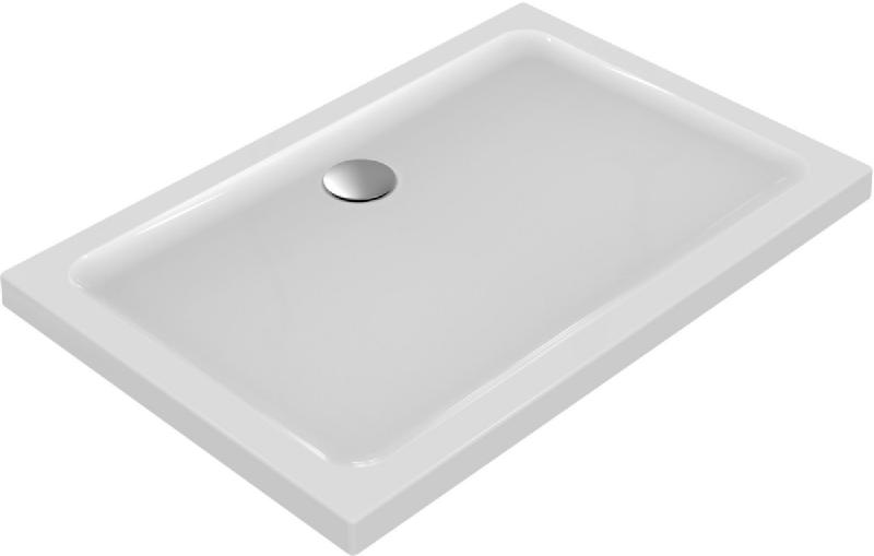 receveur 120x80 connect design lisse anti derapant blanc. Black Bedroom Furniture Sets. Home Design Ideas