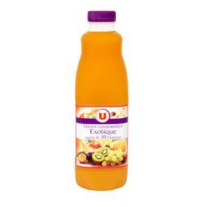 U nectar exotique source de 10 vitamines pet 1 litre