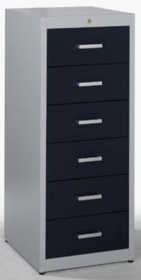Mauser armoire pour fiches avec poign es anse 6 - Glissiere de tiroir a fermeture amortie ...