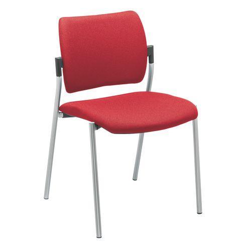 chaise yota dossier tissu comparer les prix de chaise yota dossier tissu sur. Black Bedroom Furniture Sets. Home Design Ideas