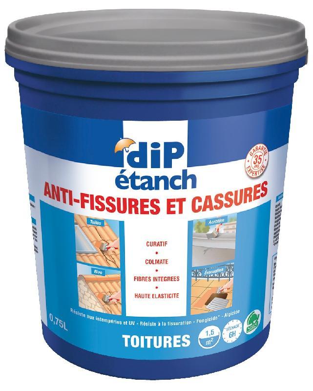 DIP ÉTANCH ANTI-FISSURES ET CASSURES 0.75L GRIS - DIP