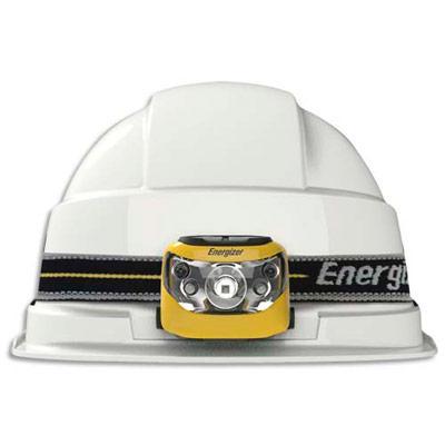 LAMPE FRONTALE PROFESSIONNELLE MULTI FAISCEAUX 4 LEDS - AUTONOMIE 25 H - PORTÉE 80 M