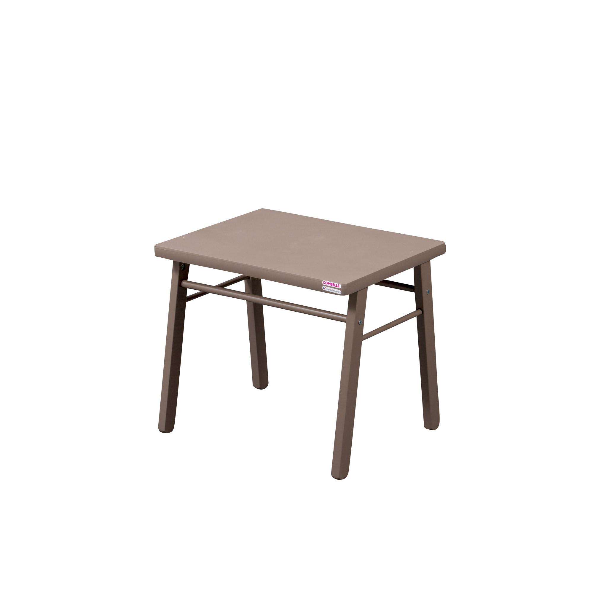 table d 39 enfant taupe. Black Bedroom Furniture Sets. Home Design Ideas