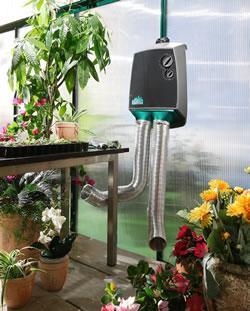 Chauffage serre electrique bio green indiana for Chauffage serre