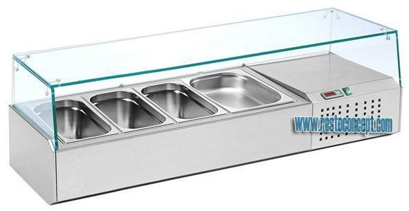 Kit réfrigéré à poser gn1/3 mercatus gn1/3 kit réfrigéré à poser gn 1/3 (l9-1320)