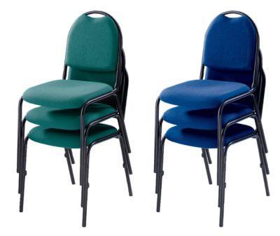 si ge de conf rence chaise empilable pi tement noir. Black Bedroom Furniture Sets. Home Design Ideas