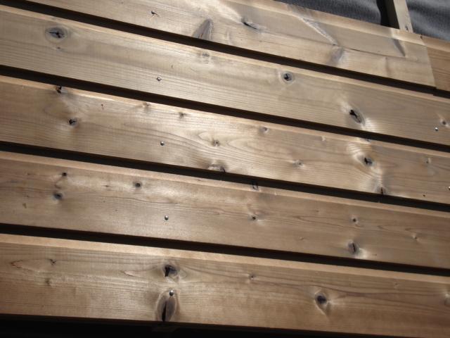 Bardages en bois