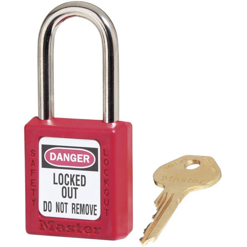 CADENAS DE CONSIGNATION ZENEX MASTER LOCK 410RED