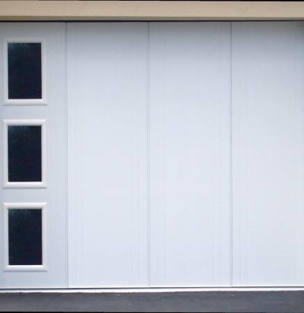 Portes de garage sectionnelles tous les produits pr s de - Porte garage coulissante motorisee ...