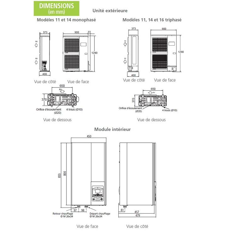 Pompe à Chaleur Pompey → Devis/Prix : Installation PAC Air-Eau, Aerothermie