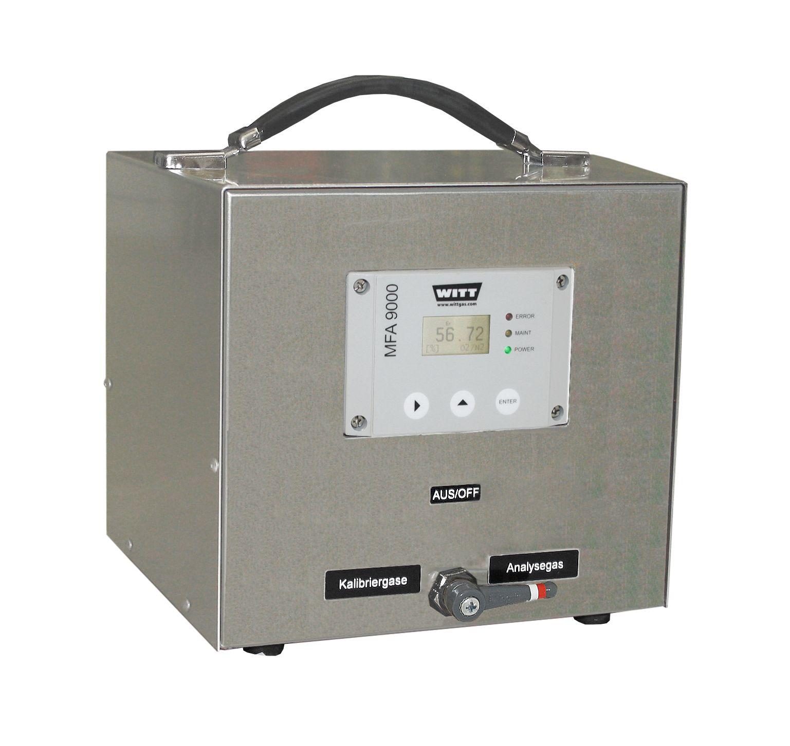 Analyseur compact mfa 9000 pour la mesure de 13 mélanges binaires de gaz