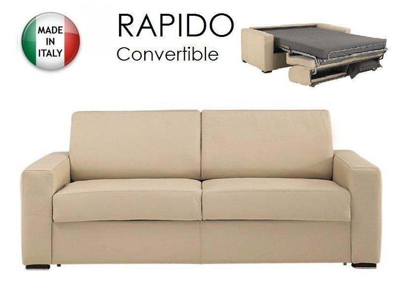 Canap lit convertible couchage quotidien conforama for Canape convertible rapido conforama