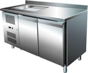 Table réfrigérée avec evier gn table réfrigérée avec evier gn 2100 tns