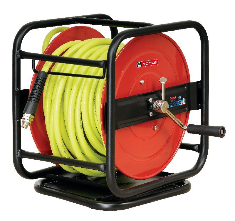 Enrouleur tuyau d air 30 m 8 mm mw tools hal01430m - Enrouleur air comprime ...