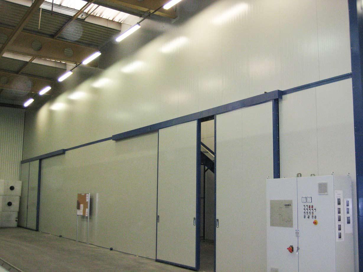 Cloison acoustique industrielle tous les fournisseurs batiment travaux publics batiment - Cloison 98 48 ...