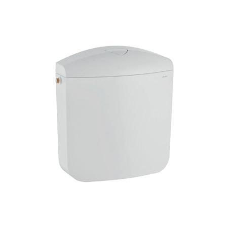 reservoir ap117 double touche interrompable reservoir attenant nf 6l blanc ref. Black Bedroom Furniture Sets. Home Design Ideas