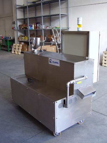 Trommel sp 320 / 2  lavage et rincage  (machine à vis d'archimède) magido