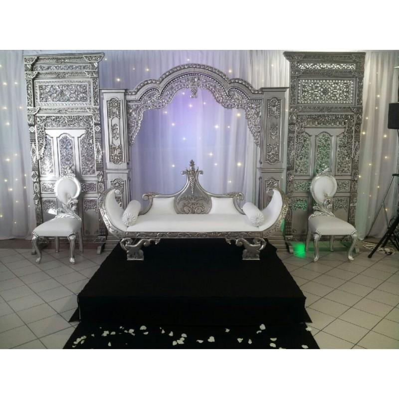 trone mariage indien. Black Bedroom Furniture Sets. Home Design Ideas