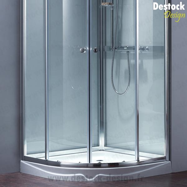 cabine de douche verra quart de cercle 90 cm x 90 cm. Black Bedroom Furniture Sets. Home Design Ideas