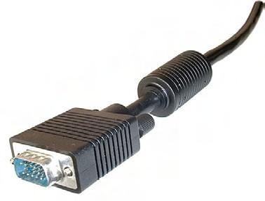 Cable video vga pour liaison pc videoprojecteur lg 20m