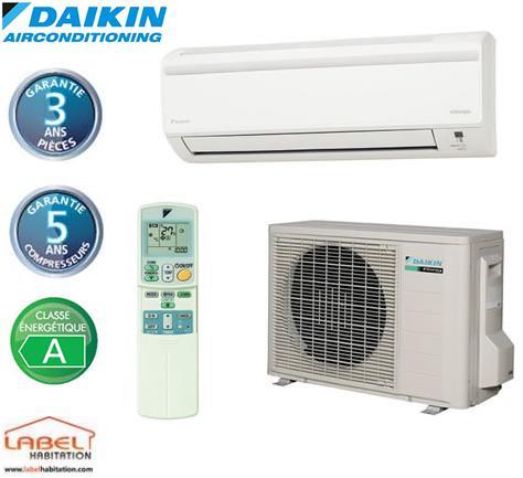 climatisation r versible daikin ftx20jv rx20jv 2 kw comparer les prix de climatisation. Black Bedroom Furniture Sets. Home Design Ideas