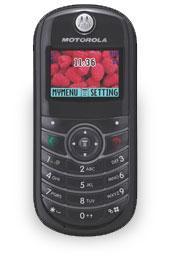 Téléphones mobiles monobloc - motorola c139