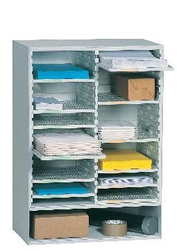 trieur de courrier modele 2 colonnes largeur 57 1 cm coloris gris. Black Bedroom Furniture Sets. Home Design Ideas