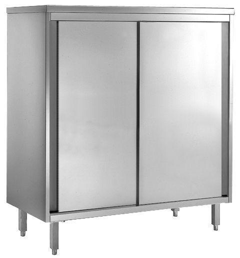 Armoire inox porte coulissante profondeur 600/700 armoire inox profondeur 700 (gg1291)