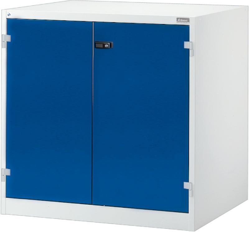 Armoire lourde avec portes battantes en tole pleine de base for Les portes logiques de base