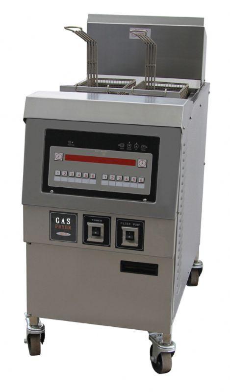 Friteuse a haut rendement electrique ou gaz friteuse a for Cuisine gaz ou electrique
