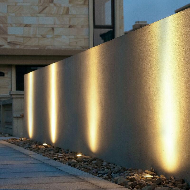 Spot encastrable comparez les prix pour professionnels for Lampe spot exterieur