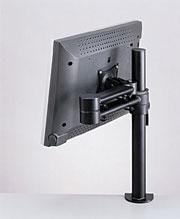 support articule pour ecran plat fixation par pince ref 080299004. Black Bedroom Furniture Sets. Home Design Ideas