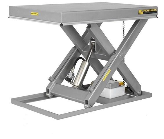 Table elevatrice electro hydraulique inox - Table verin hydraulique ...