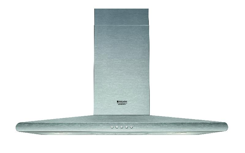 High Quality Hotpoint Ariston   Hotte Décorative Murale 90cm Style Hnc9.6amix/ha (hnc  9.6 Amix Ha) Inox
