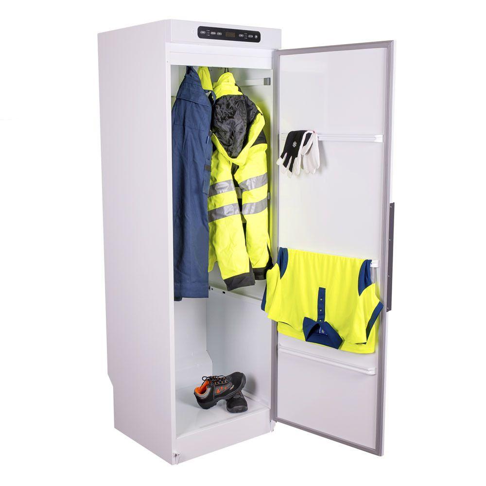 Sèche-armoire air eco chaude vêtements de travail