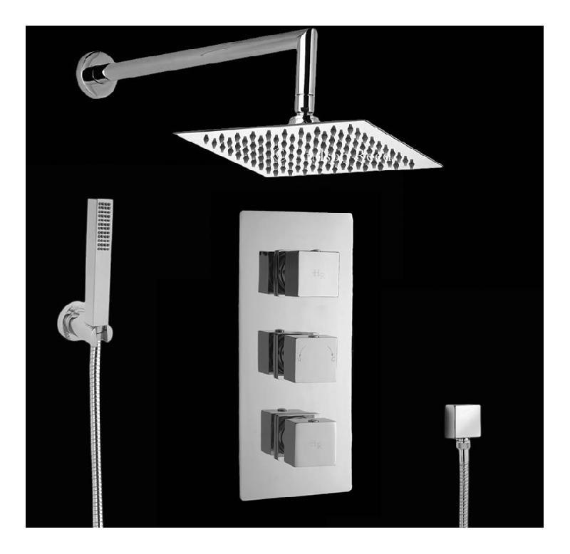kit douche thermostatique encastrable hudson reed comparer les prix de kit douche. Black Bedroom Furniture Sets. Home Design Ideas
