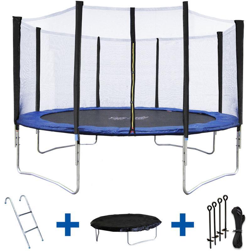 trampolines happy garden achat vente de trampolines happy garden compar. Black Bedroom Furniture Sets. Home Design Ideas
