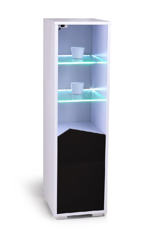 voyager etagere lumineuse led laque blanc porte design. Black Bedroom Furniture Sets. Home Design Ideas