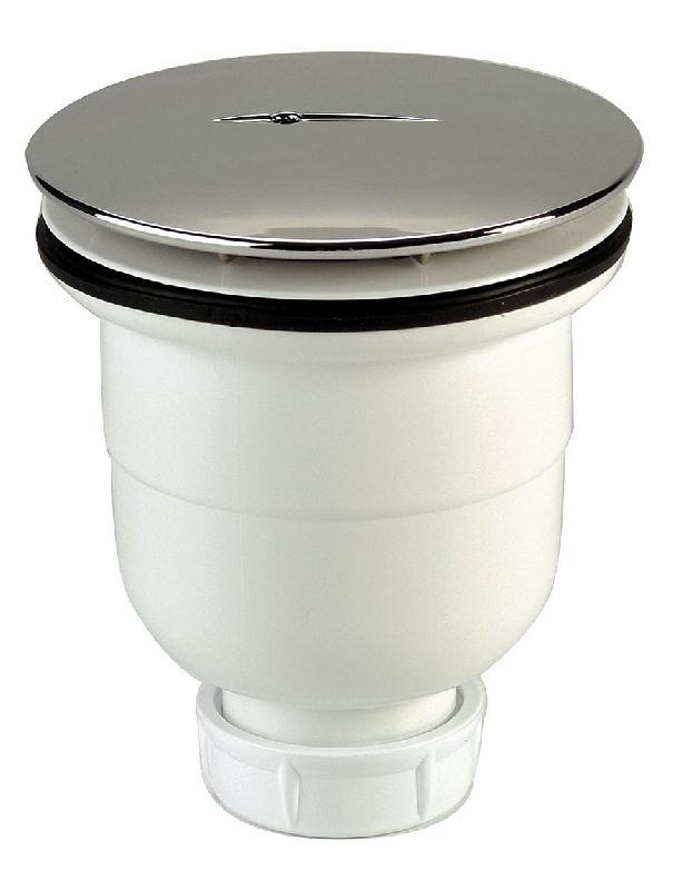 Bonde verticale pour receveur diam tre 90 mm filetage 40 for Bonde de douche verticale 90