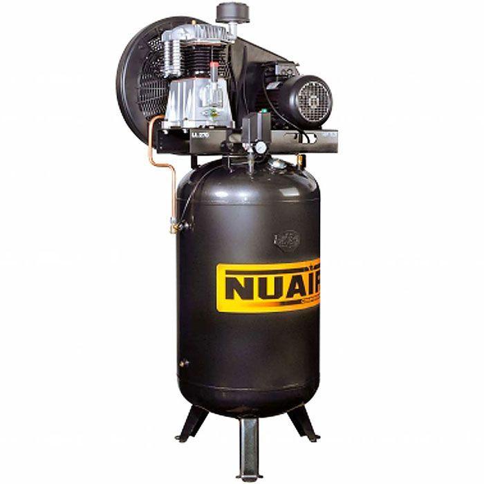 Compresseur a piston vertical 270 litres 5.5 cv nuair nb5/5ftv/270