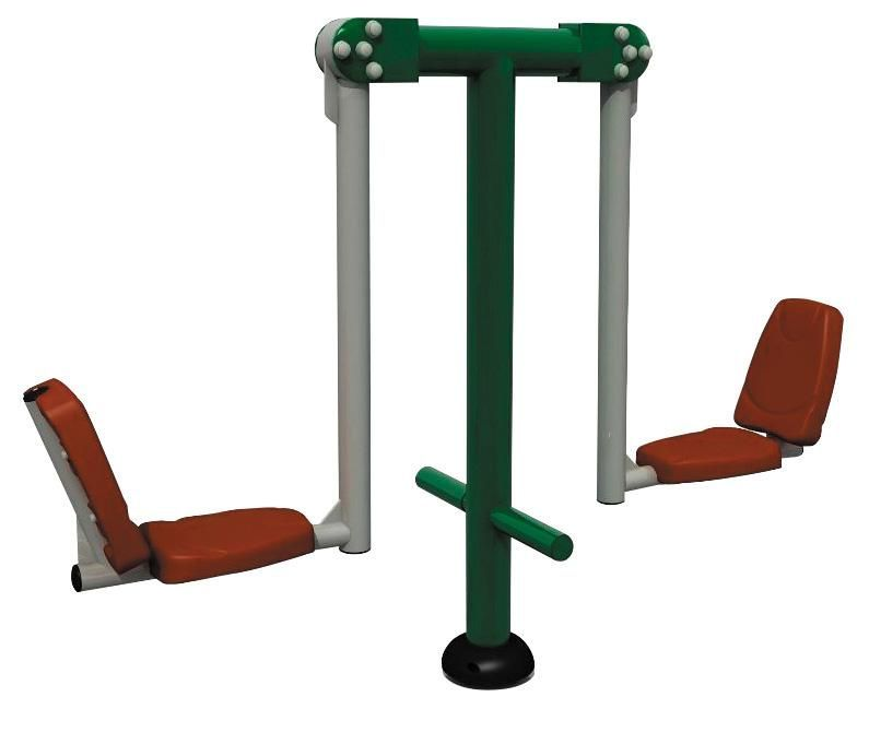 Module de fitness extérieur - etirements jambes