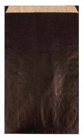 102062 - CARTON DE 250 POCHETTES KRAFT À SOUFFLET 12X4X21 CM, COLORIS CHOCOLAT