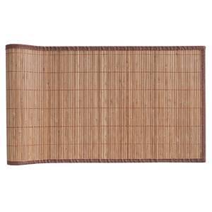 chemin de table 120 0 cm x 33 0 cm marron. Black Bedroom Furniture Sets. Home Design Ideas